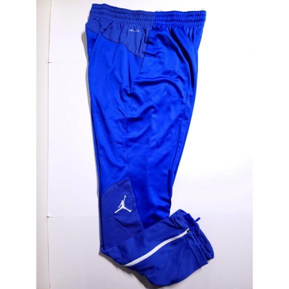 46f4d7c87e9b Jordan Team Flight Warmup Basketball Pants Blue